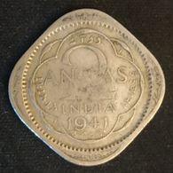 INDE - INDIA - 2 ANNAS 1941 - George VI - KM 541 - Indien