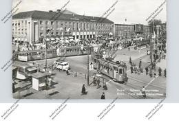 CH 4000 BASEL BS, Mustermesse, Tram, Kiosk, VW-Bus - BS Basle-Town