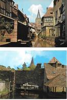 WISSEMBOURG 2 Cartes La Lauter Et Le Bruch - Wissembourg