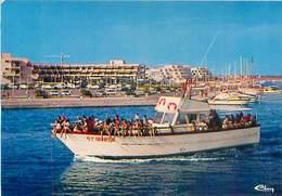 Le Grau Du Roi - Port Camargue - Le Bateau De Promenade En Mer   AO 603 - Le Grau-du-Roi