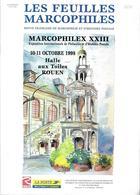 FEUILLES MARCOPHILES - Supplément Au N° 294 1998 = MARCOPHILEX XXIII + ROUEN + La POSTE En NORMANDIE + CALVADOS - Magazines: Subscriptions