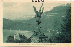 DEPT 74 : édit. ? N° 7 : Lac D'Annecy Le Chateau De Duingt Et Talloires - Francia