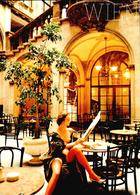 Carte Vers 1980 Femme Nue , Nu Attablée à Un Bar à Vienne - Ohne Zuordnung