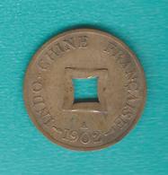 French Indo-China - Sapeque (1/500 Piastre) - 1902 - KM6 - Colonies