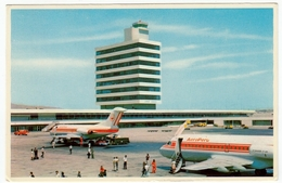 "AEREI - AEROPORTO - AEROPUERTO INTERNACIONAL ""JORGE CHAVEZ"" - LIMA - CALLAO, PERU' - 1976 - Vedi Retro - Formato Piccolo - Aerodromi"