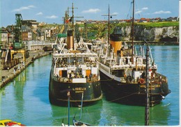 76 - Dieppe - Paquebots Dans L'avant Port (Lisieux Et Arromanches) - Dieppe