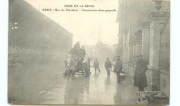 75* PARIS - Crue - Rue Du Chevaleret - Inondations De 1910