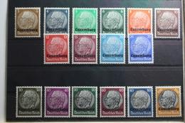 Deutsche Besetzung 2. WK Luxemburg 1-16 ** Postfrisch #TP681 - Occupazione 1938 – 45