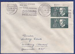 Brief Mehrfachfrankatur MiNr. 284 (br9809) - Covers & Documents