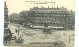 75* PARIS -  Crue - Place De Rome - Inondations De 1910