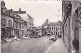 [12] Aveyron > Laguiole Route Nationale Simca Chambord Renault 4 Cv Citroën Hy Vespa Commerces - Laguiole