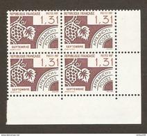 FRANCE 1987 PREO N° 194  - BLOC De 4 Ex BdF - ** NEUF GOMME INTACTE - SEPTEMBRE - Préoblitérés
