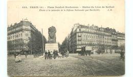 75* PARIS -  Place Denfert Rochereau - France