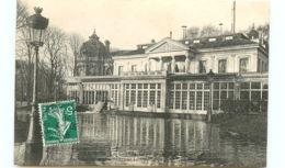75* PARIS -  Crue Restaurant Ledoyen Aux Champs Elysees - Inondations De 1910