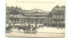 75* PARIS -  Place Du Palais Royal - France