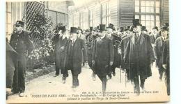 75* PARIS -   Foire 1920 - Visite Presidentielle - France