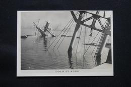 PHOTO - Photo Du Sabordage De La Flotte Française à Toulon En 1942 - L 58286 - Guerre, Militaire