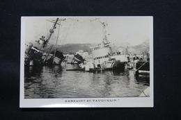 PHOTO - Photo Du Sabordage De La Flotte Française à Toulon En 1942 - L 58288 - War, Military