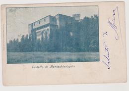 Montechiarugolo (PR)  Castello  - F.p. - Fine '1800/ Inizi '1900 - Parma