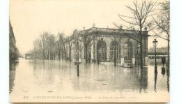 75* PARIS -    Crue Gare Des Invalides - Inondations De 1910