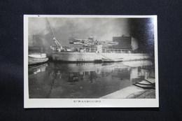 PHOTO - Photo Du Sabordage De La Flotte Française à Toulon En 1942 - L 58298 - Guerra, Militares