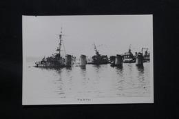 PHOTO - Photo Du Sabordage De La Flotte Française à Toulon En 1942 - L 58299 - Guerra, Militares