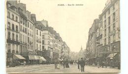 75* PARIS -     Rue St Antoine - France