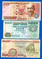 Ghana  6  Billets - Ghana