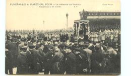 75* PARIS -     Funerailles Marechal Foch - Invalides - France