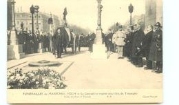 75* PARIS -     Funerailles Marechal Foch - Arc De Triomphe - Autres