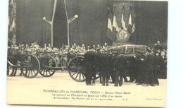 75* PARIS -     Funerailles Marechal Foch - Notre Dame - Autres