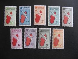MADAGASCAR: TB Série PA N° 16 Au N° 24, Neufs XX , Sauf Le PA16 Neuf X. - Posta Aerea