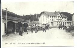 DOUANE Française - Col De La Schlucht (vers 1913) - VENTE DIRECTE - Customs
