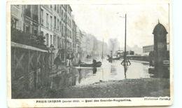 75* PARIS -     Crue - Quai Des Grands Augustins - Inondations De 1910