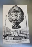 A059 Premiere Ascension En Ballon Libre Effectuee Par D Arlandes Et Pilatre De Rozier 21 Novembre 1783 Paris - Montgolfières