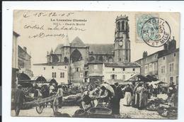 TOUL - Le Marché (bien Animé - 1905) - VENTE DIRECTE - Markets