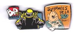 JOURNEES DE LA BD (2 PIN'S ) - Comics