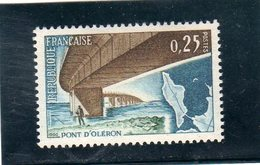 FRANCE     1966  Y.T. N° 1489   NEUF*  Charnière Propre - France