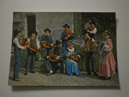 03 Vichy, Groupe Folklorique Vichy Et Ses Sources, Orchestre Bourbonnais. Carte Inédite (GF1286) - Vichy