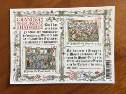 BLOC FEUILLET GRANDES HEURES DE L'HISTOIRE DE FRANCE Y&T F4828 - 2013 - Neuf ** - Blocs & Feuillets