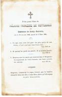 Princesse Mélanie De METTERNICH - Née Comtesse De ZICHY-FERRARIS - °1805 Et Décédée 1854 - Images Religieuses