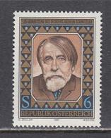 Austria 1987 - Arthur Schnitzler, Mi-Nr. 1883, MNH** - 1981-90 Ungebraucht