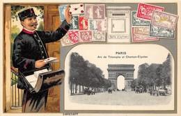 55 Cartes Scannées Recto. Des Très Belles, Des Moyennes & Des Plus Petites. Lot N°008. - Cartes Postales