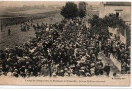Cortège De L'Inauguration Du Monument De Noisseville-Groupe D'officiers Allemands - France