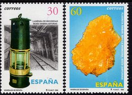 Spain - 1996 - Minerals Of Spain - Mint Stamp Set - 1991-00 Nuevos & Fijasellos