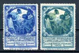 Italie   Cinderella  Esposizione Internationale D'Applicazione D'ell Electricita  Brescia 1902 - Italië