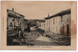 Migneville- Rue Du Neuf-Pays - France