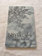 Hotelkarte Room Key Keycard Clef De Hotel Tarjeta Hotel  MYSTIC LAKE CASINO HOTEL PRIOR LAKE Without  Moon - Telefonkarten