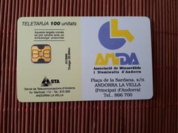 Phonecard Andorra  Used Rare - Andorra