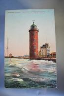 A090 Nordseebad Cuxhaven Leuchtturm Und Telegraphengebaude - Otros